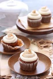 the cilantropist carrot cake cupcakes with maple cream cheese