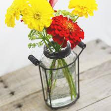 Frog Flower Vase Glass Mason Jar Vase With Metal Frog Lid U2013 Freckled Hen Farmhouse