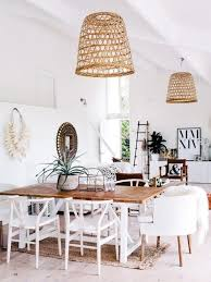 Beautiful Dining Room Tables Best 25 Bohemian Dining Rooms Ideas On Pinterest Midcentury
