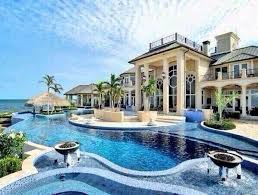 home with pool house with pool houses house backyard