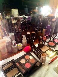 makeup artist station murad on the carpet murad