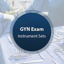 ob gyn exam light gyn exam instrument set