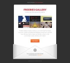 email newsletter template freebies gallery
