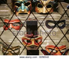 new orleans mask shop mardi gras masks in new orleans louisiana usa stock photo