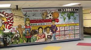 mural mural on the wall floris elementary school testimonial mural mural on the wall floris elementary school testimonial