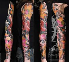 full sleeve tattoos picture list of full sleeve tattoo designs