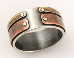 unique mens wedding band mens unique wedding ring wedding corners