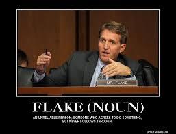Flake Meme - kelli ward 47 jeff flake 21 in arizona primary poll