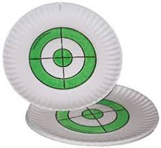 paper plate targets from the original paper plate target company