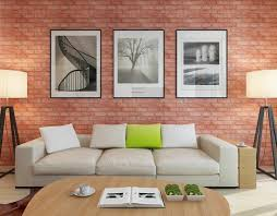 self adhesive wallpaper selling brick pattern wallpapers home
