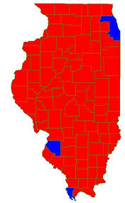 chicago voting map illinois electoral map not so blue these days chicago muckrakers