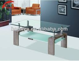 Modern Tea Table Designglass Coffee Table With Bench Legs Buy - Tea table design