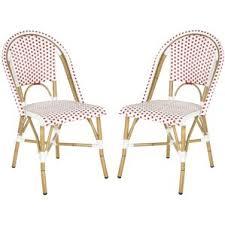 white patio dining chairs you u0027ll love wayfair