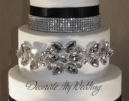 wedding cake jewelry decorate my wedding rhinestone cake jewelry cake decor
