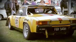 porsche 914 race cars porsche looks back at the rare 914 6 gt video