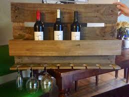 pots pans u0026 paintbrushes diy pallet wine rack