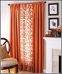 Orange White Curtains Orange Black And White Curtains Curtains Home Design Ideas