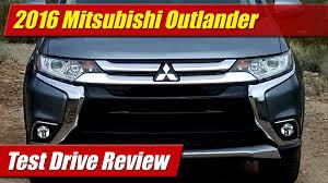 2000 Mitsubishi Outlander 2016 Mitsubishi Outlander Test Drive Youtube