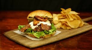 farm kettleburger from the weber grill restaurant weber