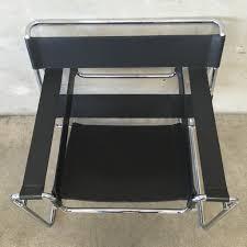 vintage knoll wassily chair circa 1980 u0027s u2013 urbanamericana