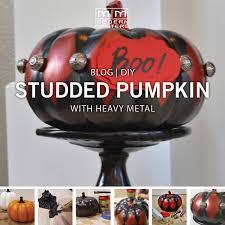 Elegant Halloween Home Decor by Metallic Harlequin Halloween Pumpkin Modern Masters Cafe Blog