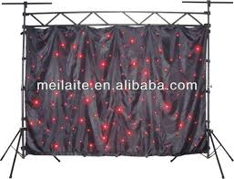 Curtains Wedding Decoration Led Curtains Stage Backdrops Curtain Wall Wedding Decoration