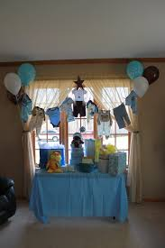Baby Shower Centerpieces For Boy by Vintage Boy Baby Shower Decorations Clothesline For Baby Shower