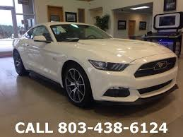 pre owned ford mustang pre owned 2015 ford mustang gt 50 years limited edition 2d coupe