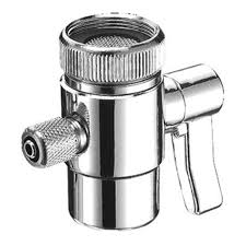 Kitchen Faucet Attachment by Diverter Valve For Countertop Filter Faucet Adapter