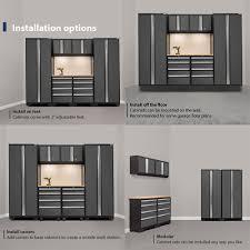 newage bold 3 0 series 24 gauge steel 7 piece cabinet set costco