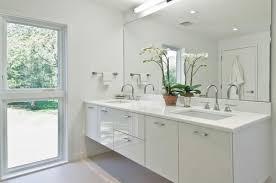 Modern White Bathroom - houzz white bathrooms thesouvlakihouse com