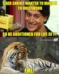 martini meme these tiger shroff meme u0027s show why he is the of all the jokes