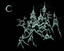 halloween skull background dark castle wallpapers 73 wallpapers u2013 hd wallpapers