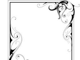 simple frame with borders and ornaments vector design 01 free