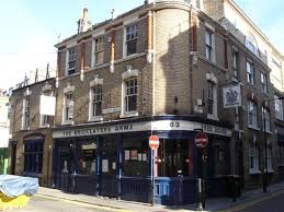 Curtain Street Shoreditch Bricklayers Arms 63 Charlotte Street Shoreditch East London