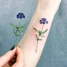 collection of 25 flower tattoo