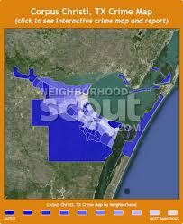 map of corpus christi corpus christi crime rates and statistics neighborhoodscout