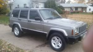 maroon jeep cherokee 2000 jeep cherokee xj review youtube