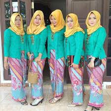 model baju kebaya muslim model baju kebaya muslim 15 model busana muslim gambar