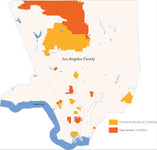 Compton Gang Map Coalitions Los Angeles County Community Disaster Resilience