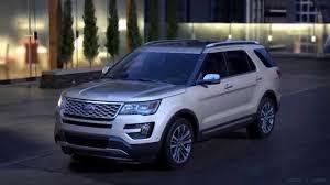 Ford Explorer Platinum - 2016 ford explorer platinum ebony interior youtube