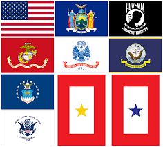 Flags Of United States Nys Tax Department Reminds New Yorkers That Usa Nys Pow And