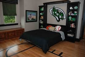 college bachelor bedroom well green pillow andbookcase idea white