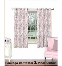 Purple Window Valances Pink And Grey Floral Curtain