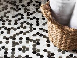 black and white hexagonal bathroom floor tile eva furniture