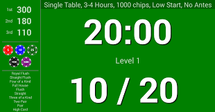 blinds are up poker timer android apps on google play
