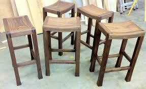 Kitchen Saddle Bar Counter Stools West Elm Regarding Elegant House - Elegant dining table with bar stools residence