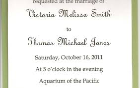 Wedding Wording Samples Wedding Invitations Example Text Gallery Wedding And Party