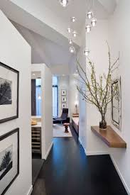 17 best ceiling designs images on pinterest ceiling design the dark floor white walls and floating shelf minimalistic and strong loft style apartment design in new york