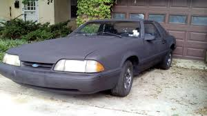 1989 ford mustang 4 cylinder ford mustang lx 1989 fox 2 3 l 4 cylinder fuel injected original
